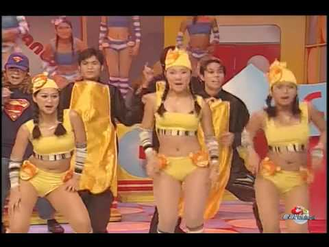 #ebthrowback | -spaghetti vs canton- with sexbomb girls, joey de leon, francis m, anjo yllana