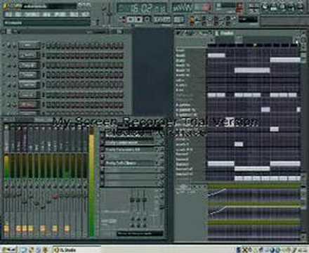 Techno hardcore remix