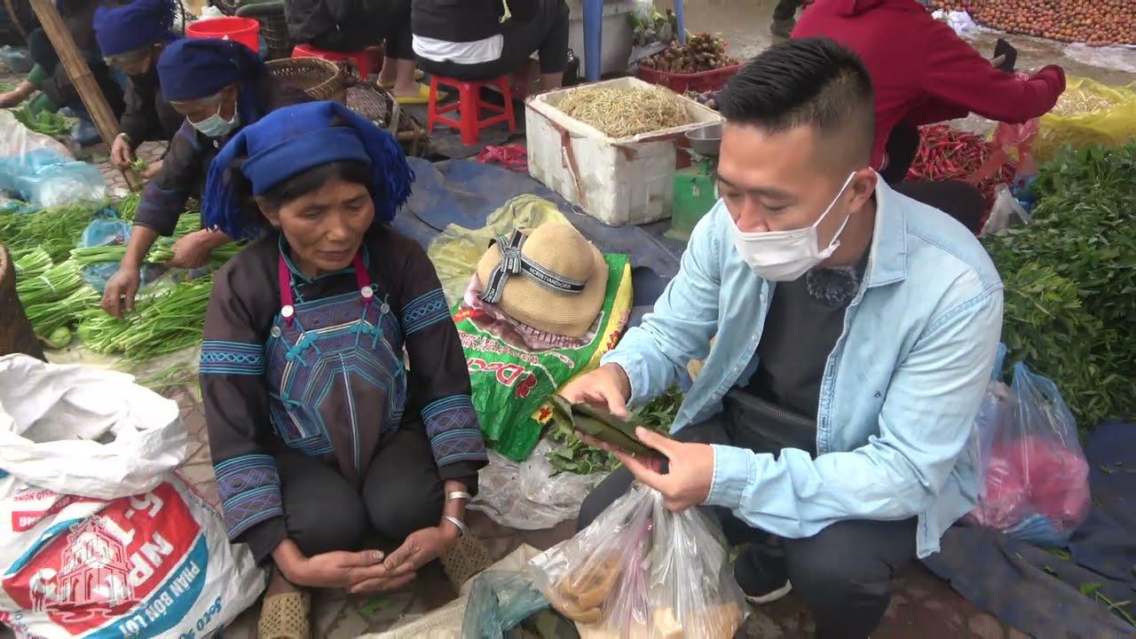 Chợ phiên miền núi vẫn nhộn nhịp như không có gì xảy ra ở Y Tý - Lào Cai