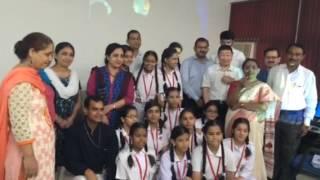 Bangali Girls Sec School Delhi NDMC STEMSEL WIFI ROBOT