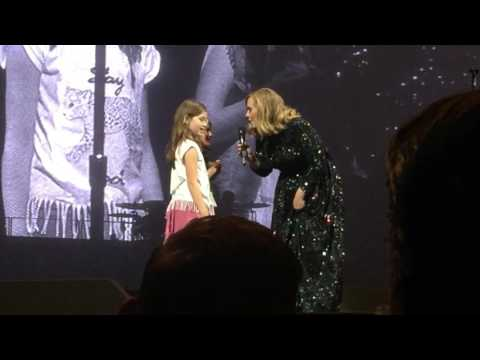 "ADELE - ""OMG, I knew you when you were a baby!!"" - Amsterdam"