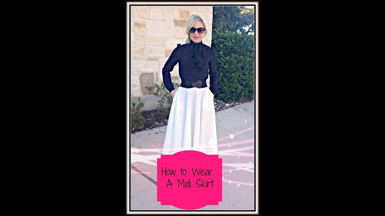 Midi Skirt: How to Use