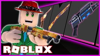 I UNBOXED THE NEW RAREST GODLY GUN!! | THE PEPPERONA GUN! (Roblox Hunted)