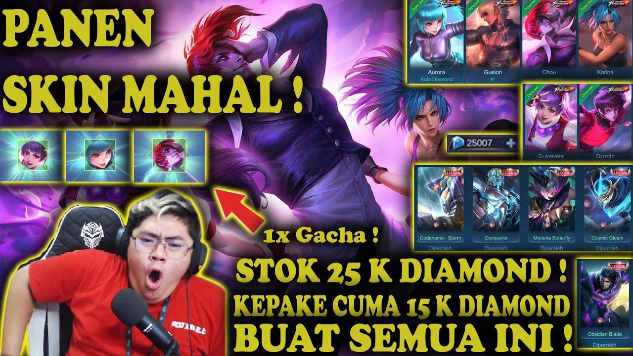 PANEN SKIN MAHAL ! EVENT TERHOKI SEPANJANG MASA ! - Mobile Legends | KOF BINGO 2021