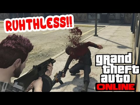 RUTHLESS KILLING SPREE! [GTA 5 Online Killing Other Players] #3
