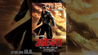 Main Hoon Akela - The One and Only - Arjun | Best South Popular Action Hindi Movie 2014