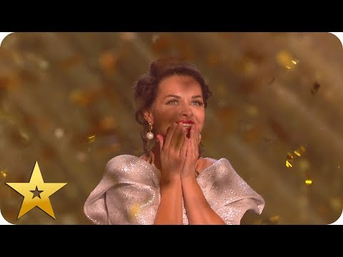 Kseniya Simonova's Astonishing Sand Art Gets First Golden Buzzer | BGT: The Champions