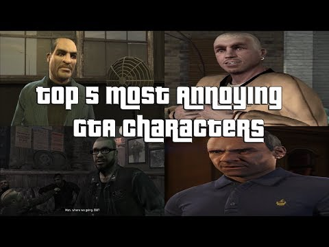 Top 5 Most Annoying GTA Characters Fully Analyzed And Explained