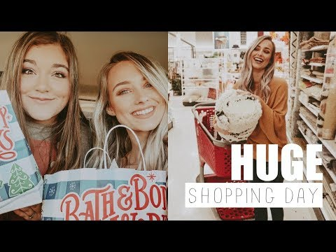 SHOP WITH ME! Tjmaxx, Target, Bath & Body Works + HUGE haul! ♡