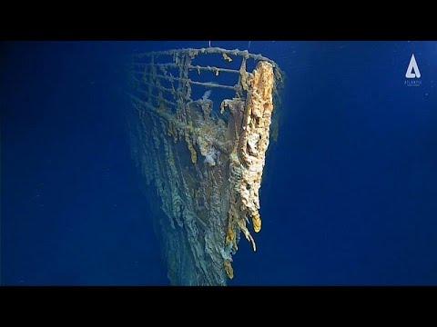 فيديو -مخيف- لبقايا سفينة تيتانيك الغارقة في قعر الأطلسي…  - نشر قبل 3 ساعة