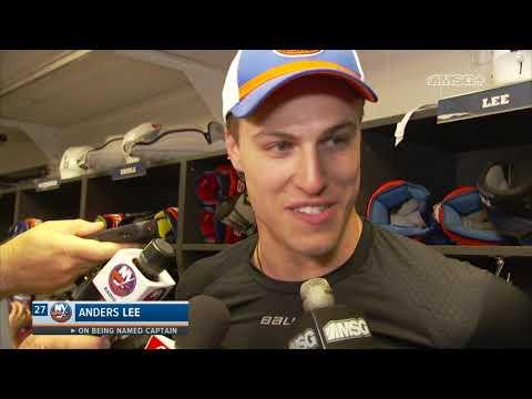 Anders Lee Honored to Be Named Isles Captain | New York Islanders | MSG Networks