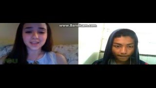 Maddi Jane and M.Qadri Just The Way You Are with Live Chat