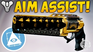 Destiny: THE HIGHEST AIM ASSIST! Exile Student Review & Gameplay (Flawless Trials Hand Cannon)