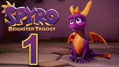 Spyro Reignited Trilogy [German][Blind][#1] Ein kleiner lila Drache!