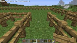 Minecraft Tutorials - Minecraft Tutorial #6 - How to Build a Pig Pen and Chicken Coop (HD)
