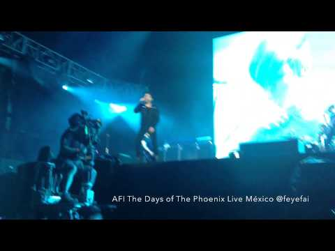 AFI The Days Of The Phoenix Live México Vive Latino 2014