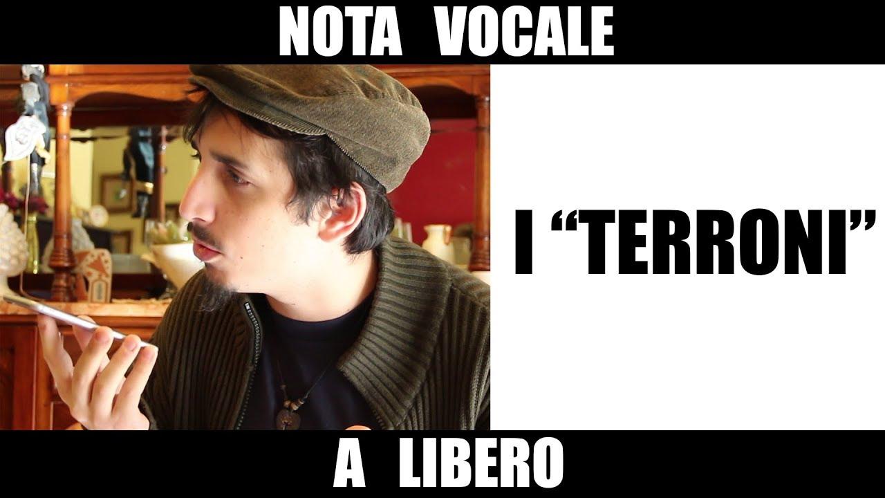 """Nota Vocale a Libero """"Comandano i terroni?"""""""