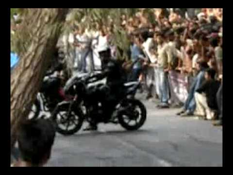 pulsar stunt mp4 video