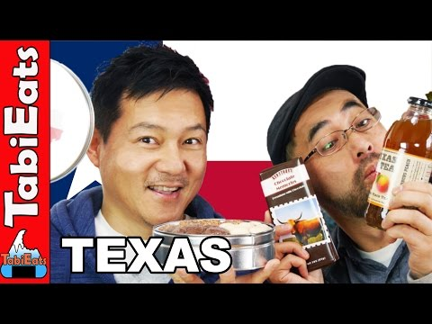 Japanese Try American Snacks (Texas Haul)