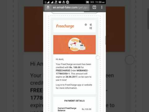 HOW TO HACK FREECHARGE CASHBACK OR SPECIFIC ACCOUNTS [ EDUCATIONAL PURPOSE ]