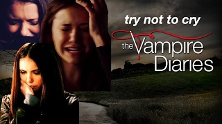 try not to cry | the vampire diaries edition *SPOILERS*