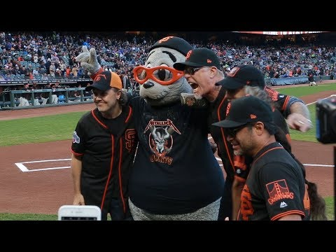SHROOM - 'Metallica Night' With San Francisco Giants
