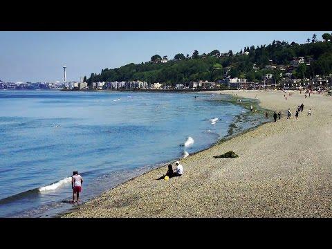 Alki Beach, Seattle WA