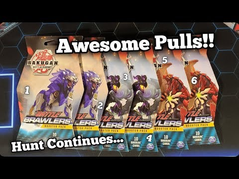 Opening More Bakugan Battle Brawlers Packs!! (Trying To Complete The Set)