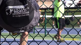 I ♥ Pickleball - Origins of Pickleball at The Huntsman World Senior Games