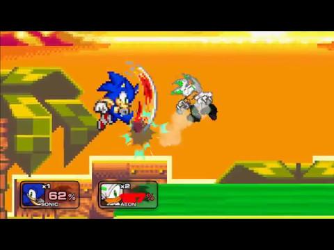 Sonic Vs Aeon (Sonic Final Fantasy X) SSF2 MOD