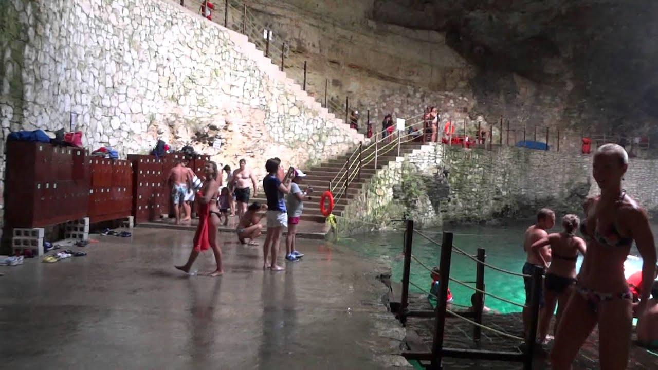 Cenote Hubiku Mexico 2013 Youtube