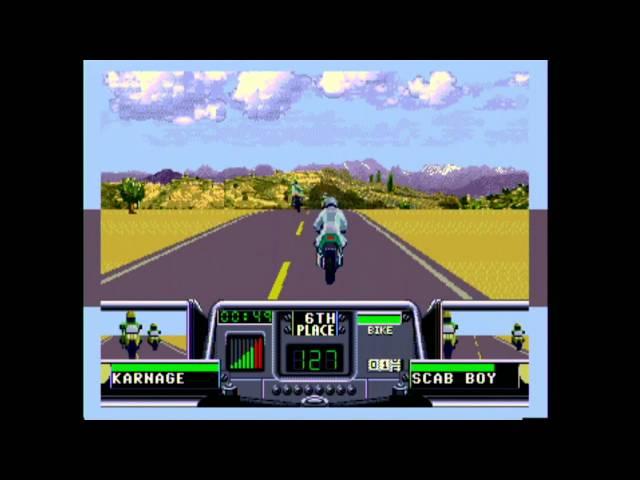 Classic Game Room - ROAD RASH 3 for Sega Genesis review