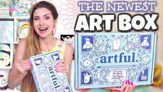 UNBOXING the BEST NEW ART BOX?! + Drawing with the Supplies