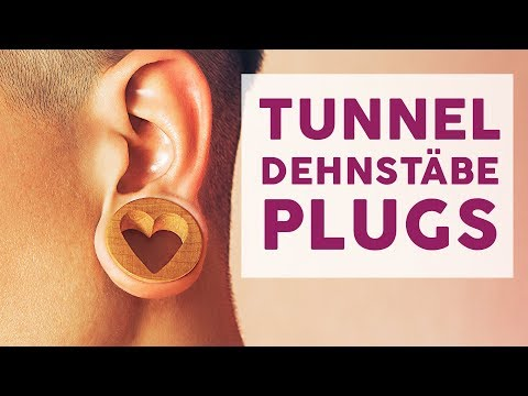 Tunnel, Dehnstäbe, Plugs - Gedehnte Ohrlöcher | mit Jacko