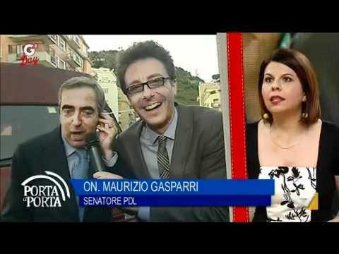 """G'DAY 26/04/2012 – L'On. Gasparri ospite a """"Torta A Torta"""" di Alessandro Di Sarno"""
