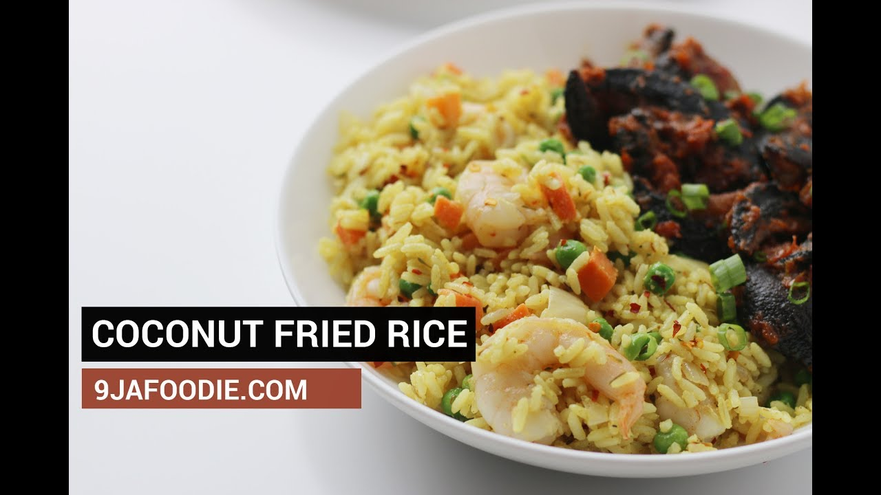 How to make coconut fried rice youtube how to make coconut fried rice ccuart Image collections