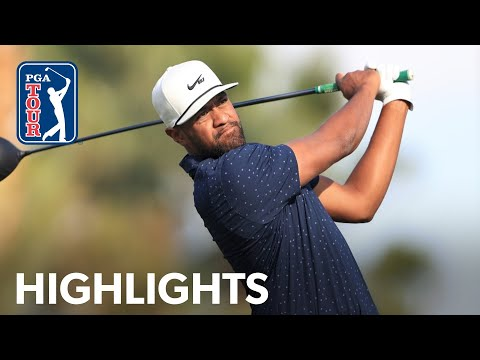 Tony Finau shoots 6-under 66 | Round 2 | The American Express 2021