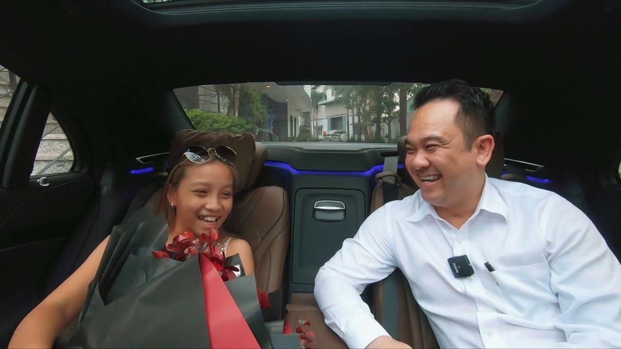 Mặc dù mới mua E200 Sport chưa được 2 tháng, người Mẹ vẫn đổi S450 luxury vì con gái quá thích !