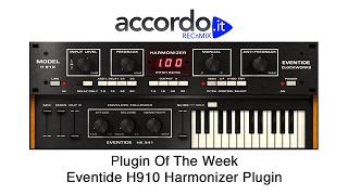 eventide h910 harmonizer plugin recnmix plugin of the week
