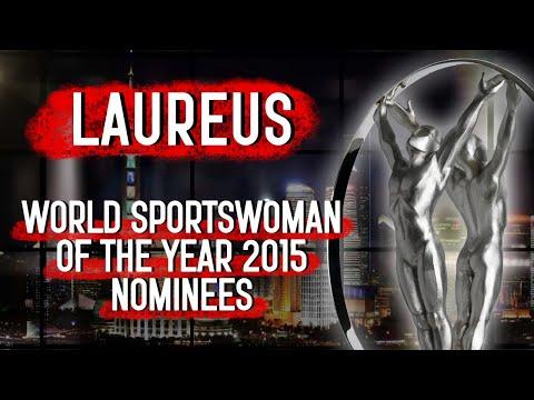 Laureus World Sportswoman of the Year 2015 Nominees