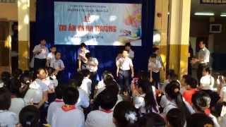 Lễ ra trường lớp 5 trường tiểu học Bình Giã