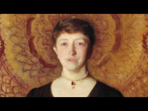 John Singer Sargent Lecture by Richard Ormond