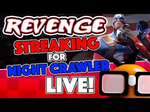 [Live] Revenge Streaking:  Search for Nightcrawler
