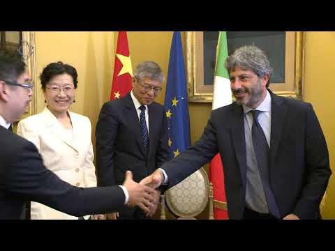 Fico incontra l'Assemblea Nazionale del Popolo della Repubblica Popolare Cinese