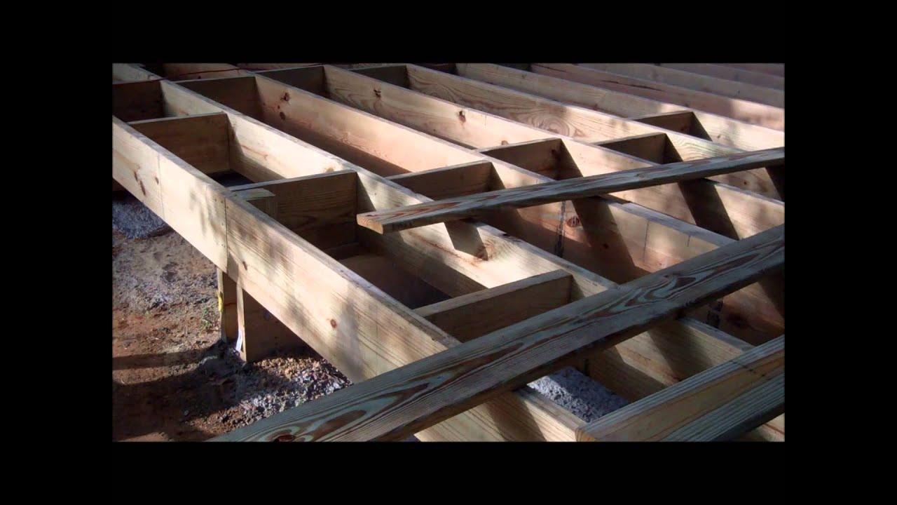 Diseño y construcción de un Deck en Madera Arq. David Sosa - YouTube