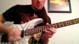Collective Soul Shine guitar solo lesson and cover + TAB