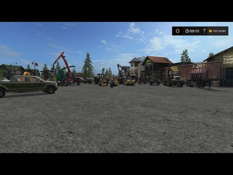 Lets Play Farming Simulator 2017 (PS4) | FORESTRY FRIDAY | Episode 2 | Forestry Equipment Overview