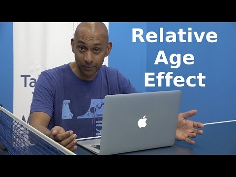 Relative Age Effect | Table Tennis | PingSkills