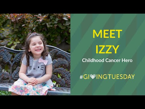 Meet Izzy: Childhood Cancer Hero