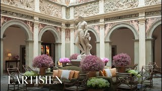 A visit to Four Seasons Hotel Firenze, experience the city of Florence and its Roman Heritage.